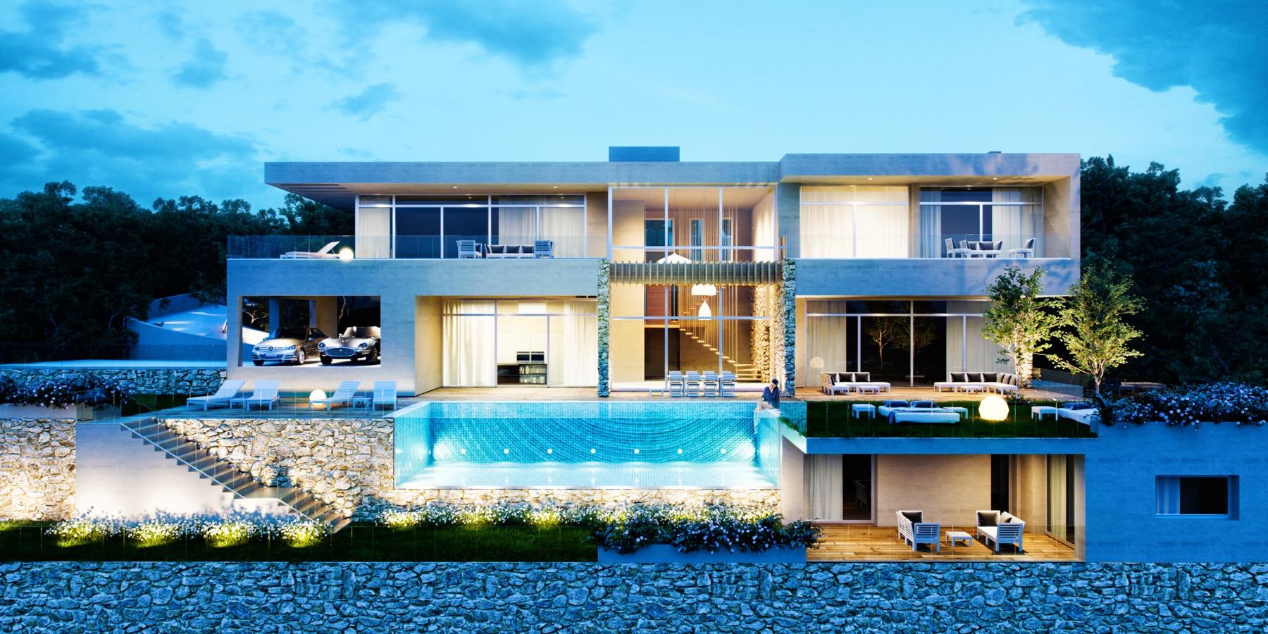 La montua arquitectos m laga especialidad viviendas unifamiliares arturo montilla - Casas prefabricadas en malaga ...