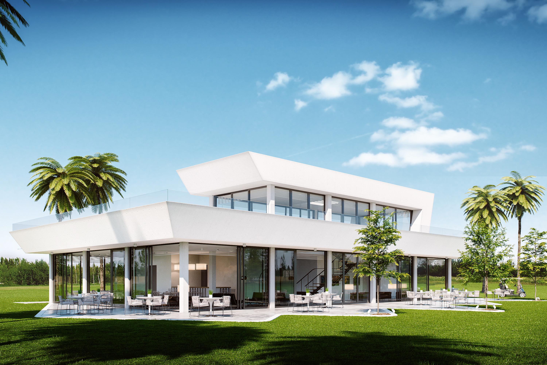 Villanueva golf casa club arquitectos m laga for Que es diseno en arquitectura