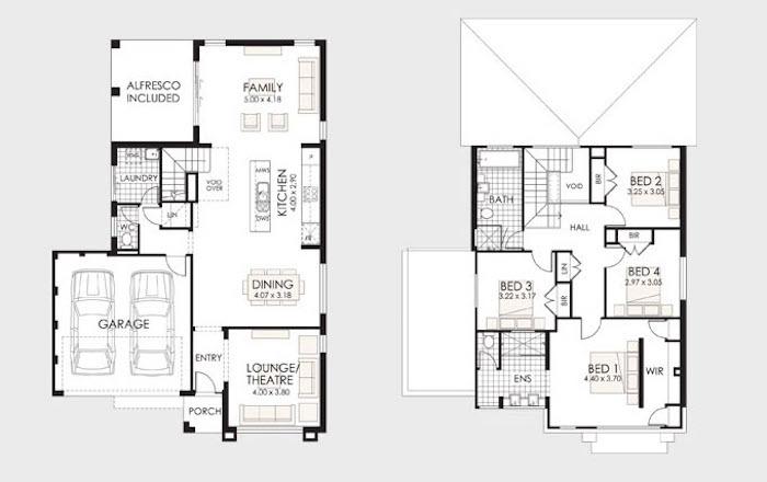 30 Disenos De Casas Impresionantes De Diferentes Tipologias Y Estilos - Planos-de-casas-en-l