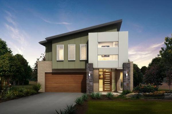 30 dise os de casas impresionantes de diferentes - Ideas para fachadas de casas ...