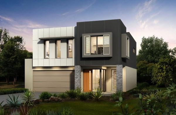 30 dise os de casas impresionantes de diferentes for Fotos de fachadas de casas andaluzas
