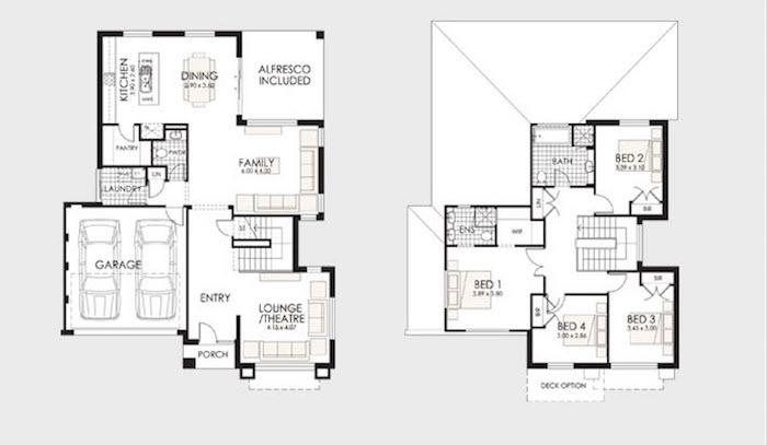 30 dise os de casas impresionantes de diferentes for Planos de viviendas unifamiliares
