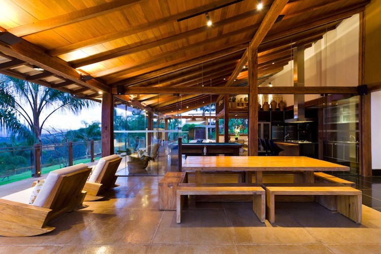 30 dise os de casas impresionantes de diferentes for Disenos de casas lujosas