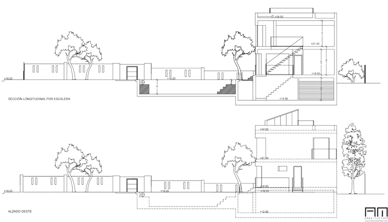 secciones casa redonda marbella