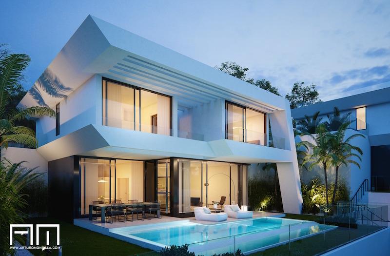 arquitecto malagueño Arturo Montilla_Vivienda unifamiliar_CA