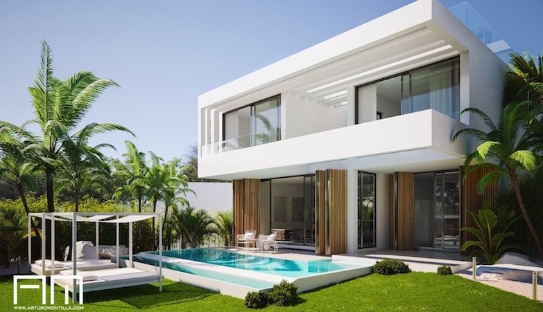 arquitecto malagueño Arturo Montilla_Vivienda unifamiliar_mijas golf portada