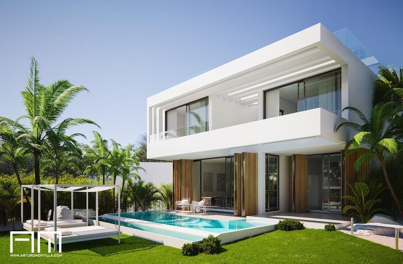 arquitecto malagueño Arturo Montilla_Vivienda unifamiliar_mijas golf